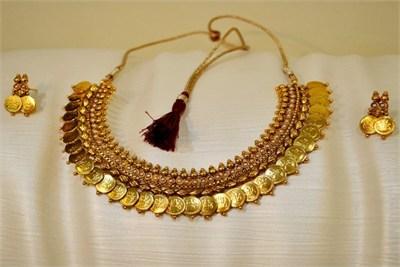 Golden Laxmi Haar