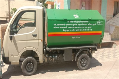 Garbage Tipper on TATA ACE