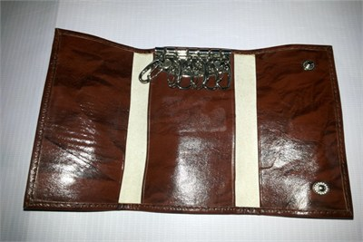 Key and Passport Pouch