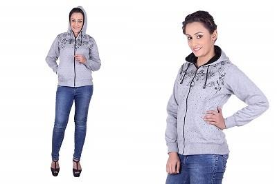 Goodluck Winter Sweatshirt for Women