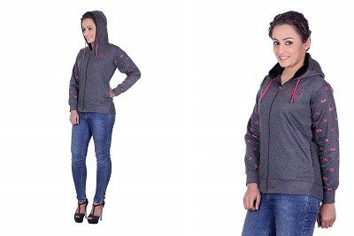Goodluck Winter Sweatshirt For Womens