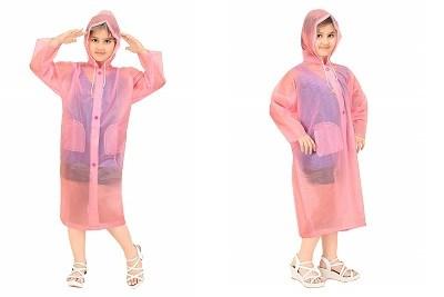 Goodluck Girls Raincoat Full Sleeve