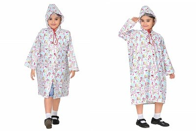 Goodluck Girls Raincoat Full Sleeve