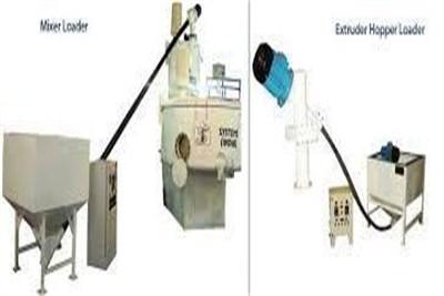 Hopper Loader for PVC Resin