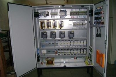PLC and VFD Panel
