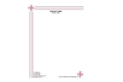 Letterhead Designing
