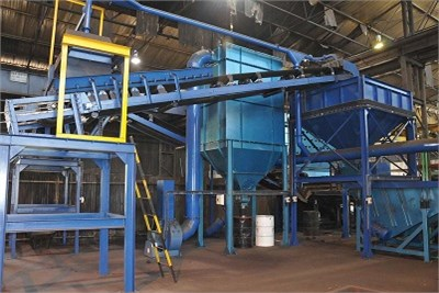 Foundry Sand Plant Equipments