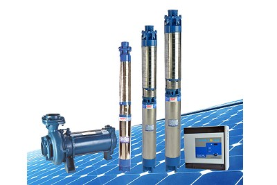Solar Water Pumping System - AC Pump