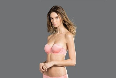 Multi Way Padded Strapless Bra