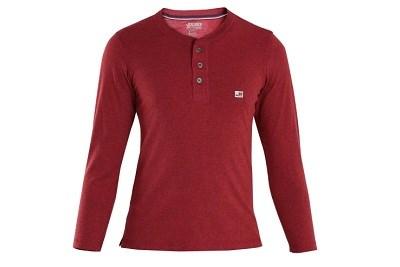 Long Sleeve Henley T-Shirt
