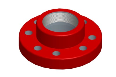 API 6B Threaded Flange Manufacturer