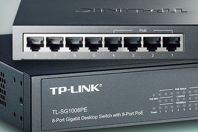 CCTV POE Switch