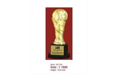 Gold Polished Metal Trophy