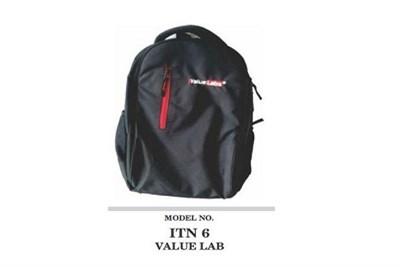 Black College Backpack