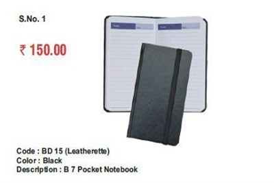 Leather Pocket Notebook