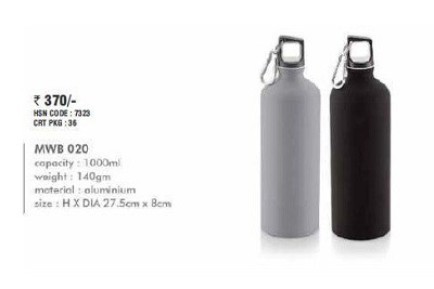 Aluminium Sipper Bottle