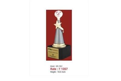 Silver Resin Trophy