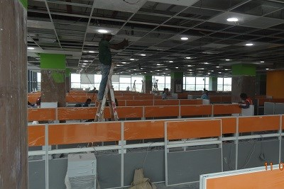 Corporate Interior Designing Work
