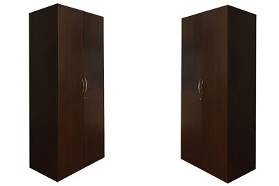 Plain Wooden Wardrobe