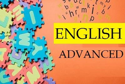 English Language- Advance