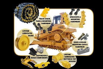 Track repair parts