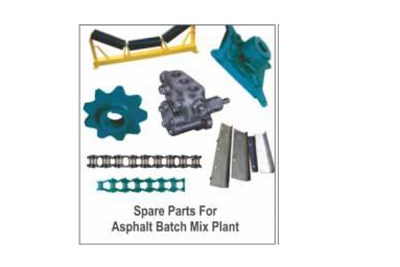 Spares parts Supplier of Hot Mix Plant (Ashpalt)
