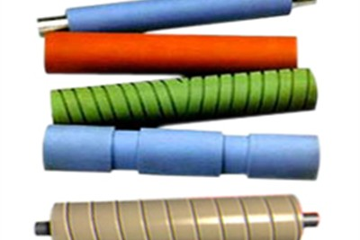 Grooved Rubber Rollers