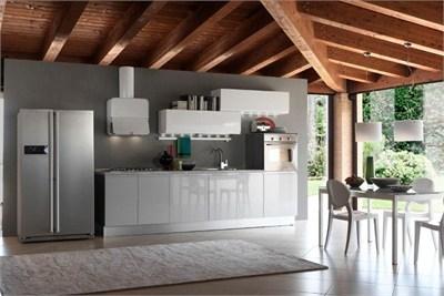 Pratico Acrylic Modular Kitchen