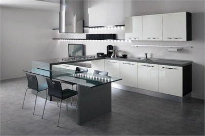 Status Lacquered Modular Kitchen