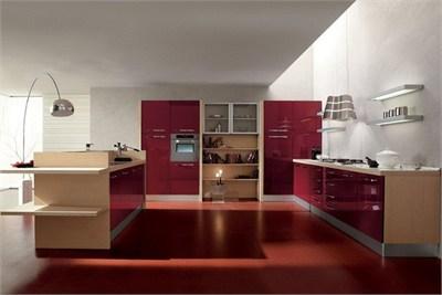 Status Acrylic Modular Kitchen