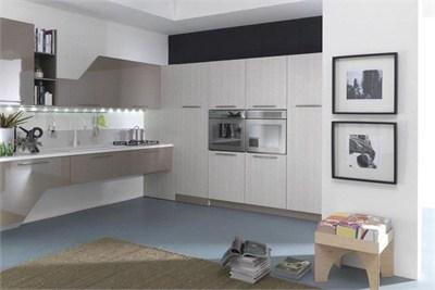 Pratico Lacquered Modular Kitchen