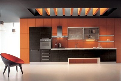 Pratico Laminated Modular Kitchen