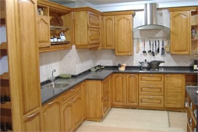 Wooden Modular Kitchen Manufacturers