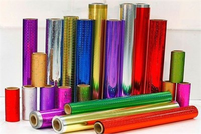 Lacquered Metallised Polyester Film