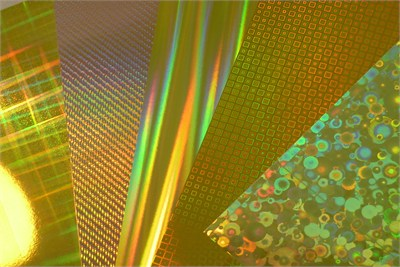 Gold Coated Films for Packaging and Printing