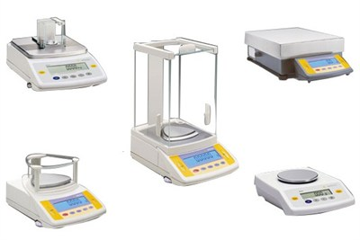Analytical Balance And Weight Box And Lab Instruments Cal...