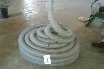 Steel wire raincoat vinal flexible hose pipe