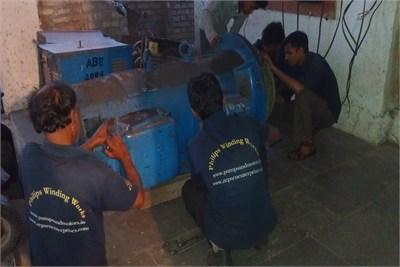 electric motor rewinding in bhosari
