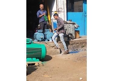 EOT Motor Repairing
