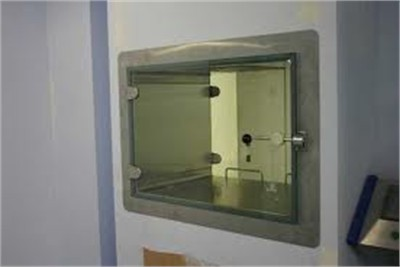 Control Panel Glass Fitting