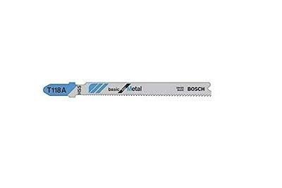 Jigsaw Blade bosch T118A  Flexible for Metal