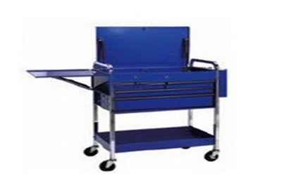 Flip Top Roll Cart 4 Drawer