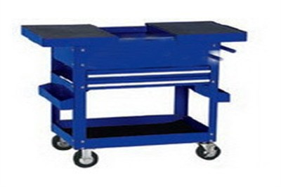 Sliding Top Roll Cart 4 Drawer