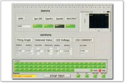AC/ DC CDI test bench