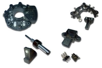 Insert Moulded (Over Moulding) Components