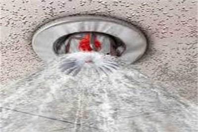 Water Sprinkler Fire Suppression
