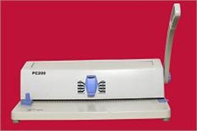 PC 200 SPIRAL BINDING MACHINE