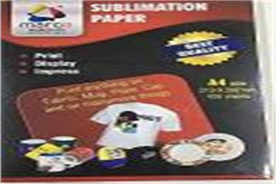 SUBLIMATION PAPER