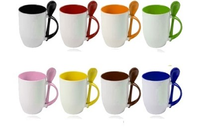 spoon sublimation mug