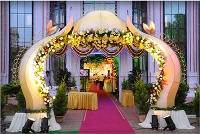 Entry Gate Decoration